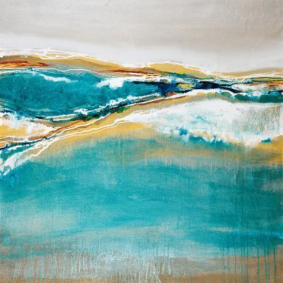 Aqua Quartz-Liz Jardine-Art Print