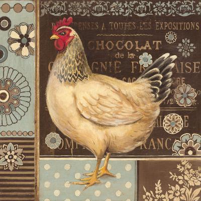 Aqua Rooster II-Kimberly Poloson-Art Print
