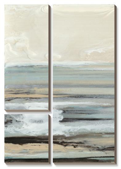 Aqua Seascape III-Ferdos Maleki-Canvas Art Set