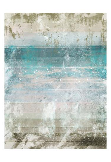 Aqua Space 1 Contemp 1-Cynthia Alvarez-Art Print
