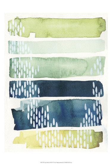 Aqua Streak II-Grace Popp-Art Print