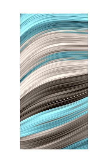 Aqua Sweep I-James Burghardt-Art Print
