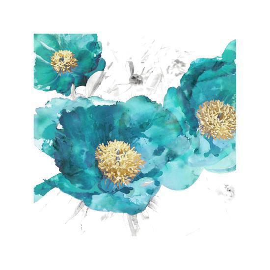 Aqua Trio I-Vanessa Austin-Giclee Print