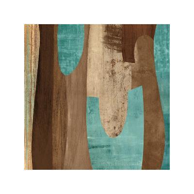 Aqua Turns II-K^ Baker-Giclee Print