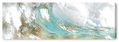 Aqua Wave Canvas Art--Home Accessories