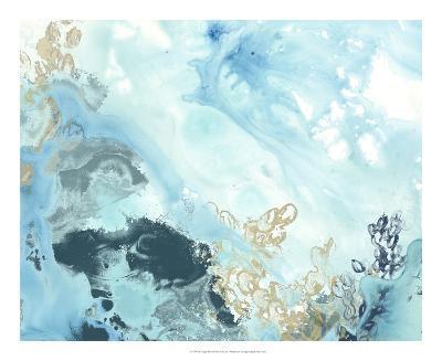 Aqua Wave Form II-June Erica Vess-Art Print