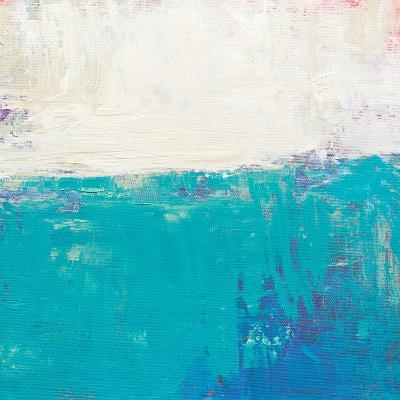 Aqua White-Don Bishop-Art Print