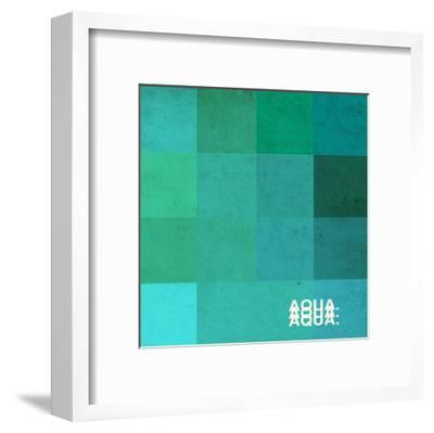 Aqua-Pascal Normand-Framed Art Print