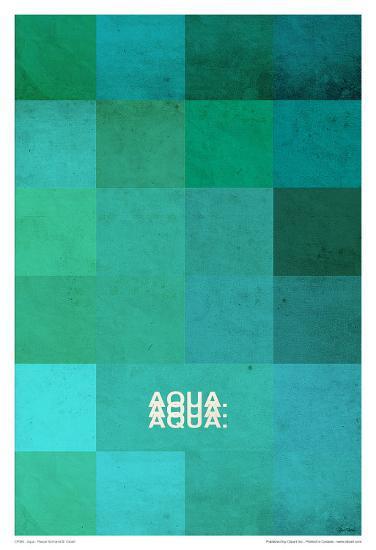 Aqua-Pascal Normand-Art Print
