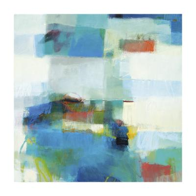 Aqua-Sharon Davis-Giclee Print