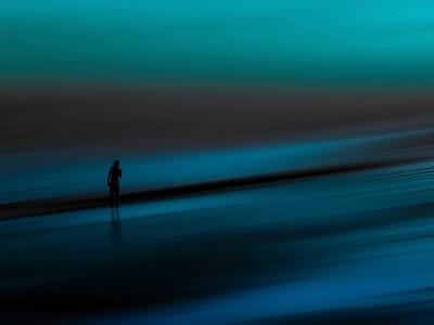 Aqua-Josh Adamski-Photographic Print