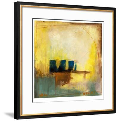 Aquamarine Aura II-Jennifer Goldberger-Framed Limited Edition
