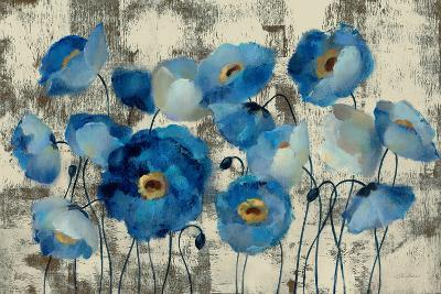 Aquamarine Floral-Silvia Vassileva-Art Print