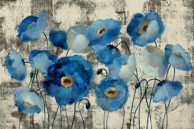 Aquamarine Floral-Silvia Vassileva-Premium Giclee Print