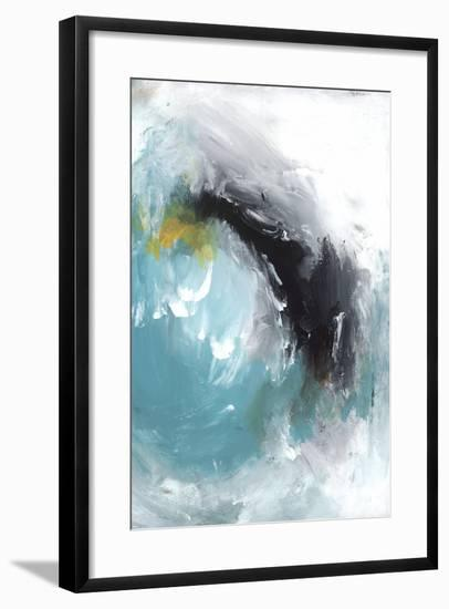 Aquamarine I-PI Studio-Framed Art Print