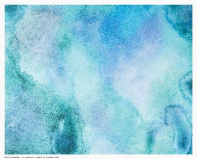 Aquamarine II--Art Print