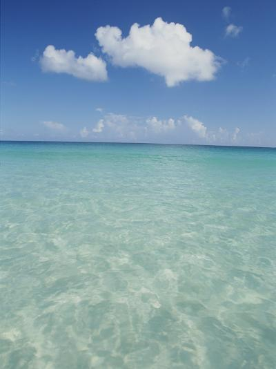 Aquamarine Water Bleeds into Blue Skies in This Tropical View-Michael Melford-Photographic Print