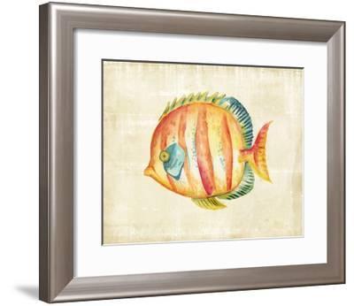 Aquarium Fish II-Chariklia Zarris-Framed Art Print