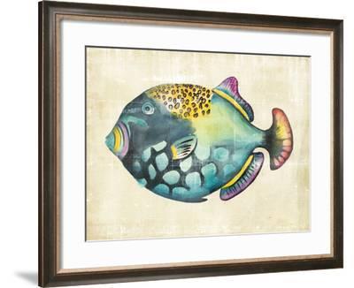 Aquarium Fish IV-Chariklia Zarris-Framed Art Print
