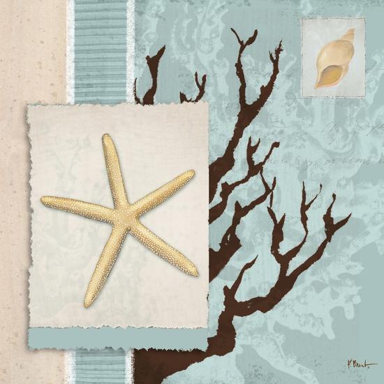 Aquarius Blue Sq III-Paul Brent-Art Print
