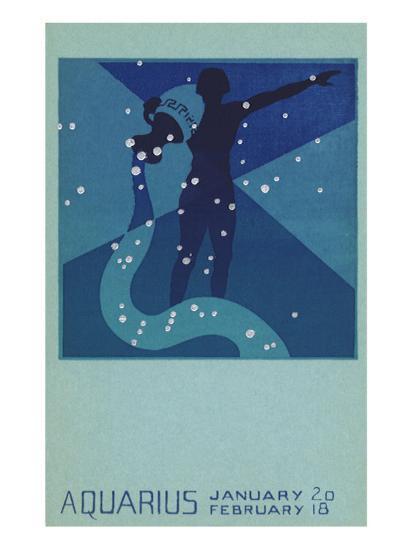 Aquarius, Water Bearer--Giclee Print