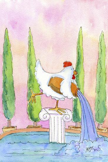 Aquarius-Jennifer Zsolt-Giclee Print