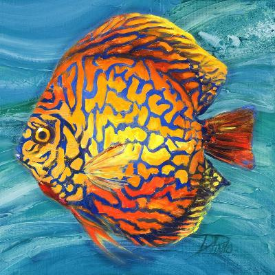 Aquatic Life II (Vibrant Sea Life IV)-Patricia Pinto-Premium Giclee Print