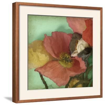 Aquatic Poppies I-Jennifer Goldberger-Framed Photographic Print
