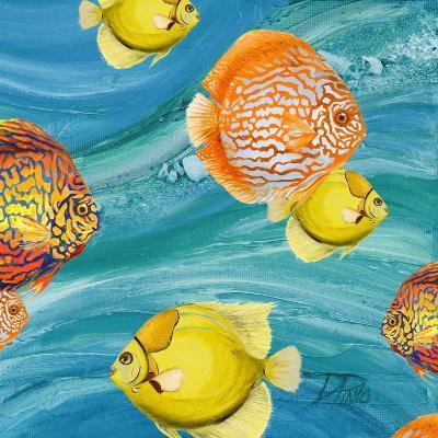 Aquatic Sea Life I-Patricia Pinto-Premium Giclee Print