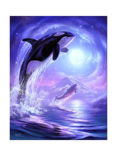 Aquatic Touch the Sky-Jeff Haynie-Giclee Print