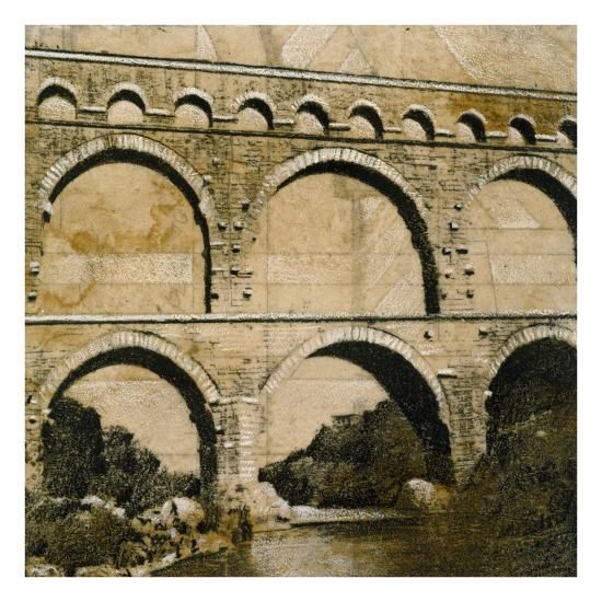 Aqueduct 1-John Douglas-Premium Giclee Print