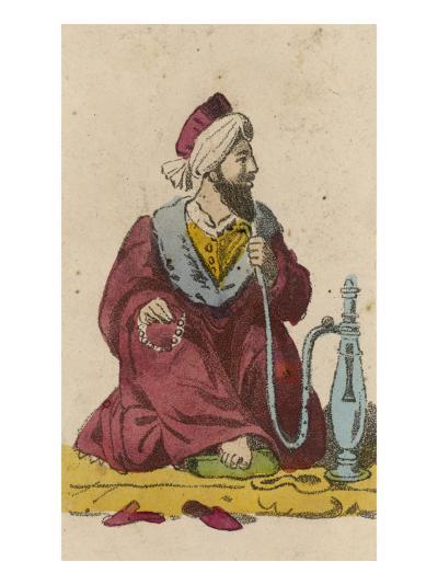 Arab and Hookah--Giclee Print