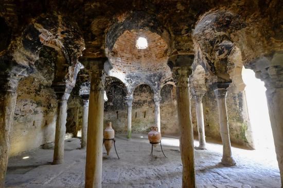 Arab baths, Banys Arabs, Palma, Majorca, Balearic Islands, Spain, Europe-Carlo Morucchio-Photographic Print