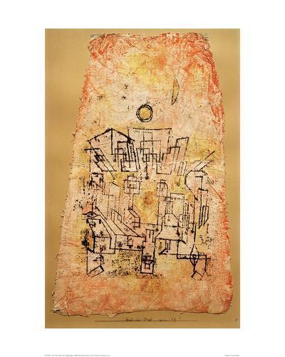 Arab City-Paul Klee-Giclee Print