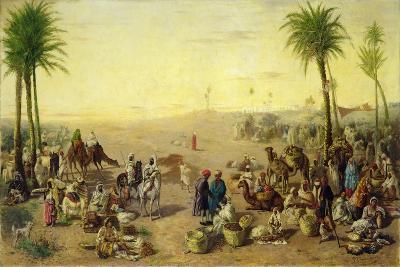 Arab Market-J. Cruciani-Giclee Print