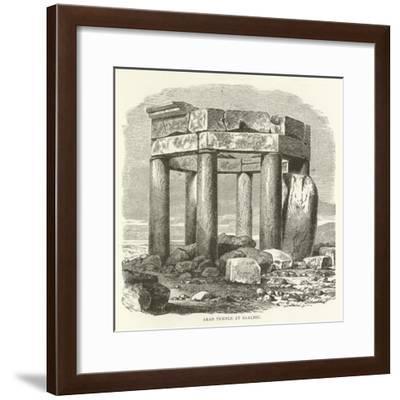 Arab Temple at Baalbec--Framed Giclee Print