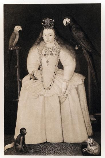 Arabella Stewart-Marcus Kels the younger-Giclee Print