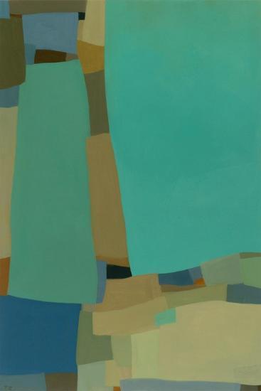 Arabesque 8-Tamar Zinn-Art Print