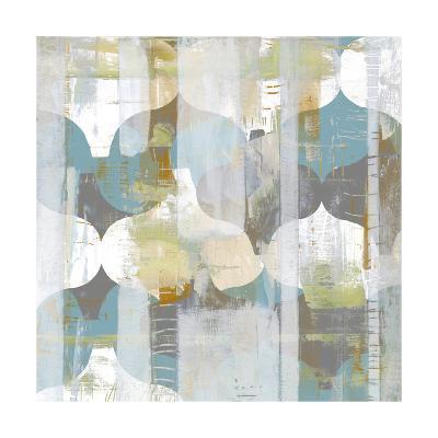 Arabesque Abstract I-Jennifer Goldberger-Art Print