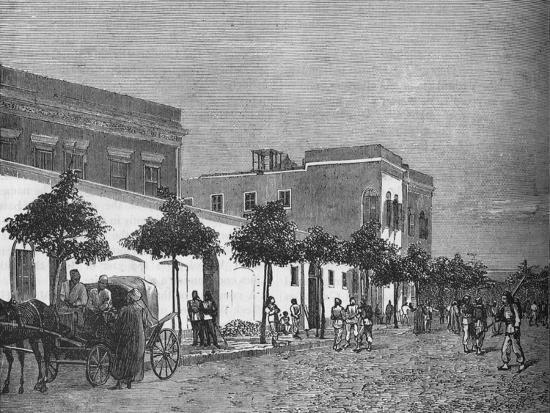 'Arabi Pasha's House, Cairo', c1882-1885-Unknown-Giclee Print