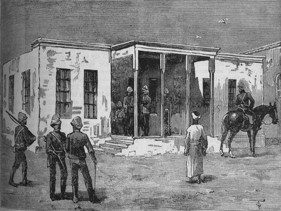 'Arabi's Prison in the Abbassieh Barracks', c1882-Unknown-Giclee Print