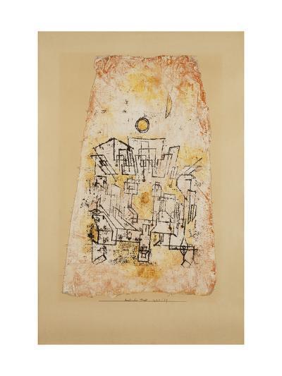 Arabian City; Arabische Stadt-Paul Klee-Giclee Print