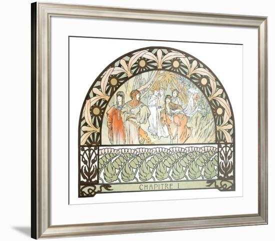 Arabian Nights-Alphonse Mucha-Framed Collectable Print