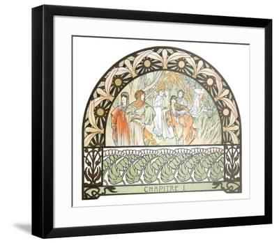 Arabian Nights-Alphonse Mucha-Framed Collectable Print