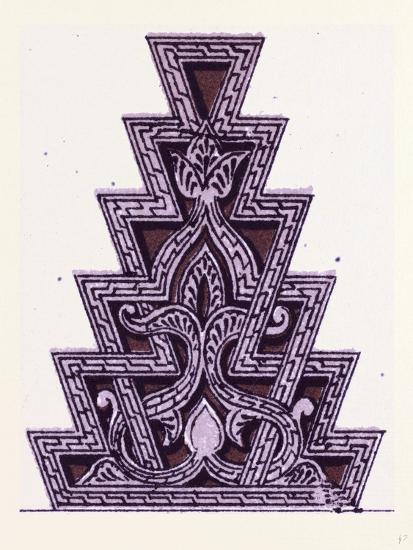 Arabian Ornament--Giclee Print