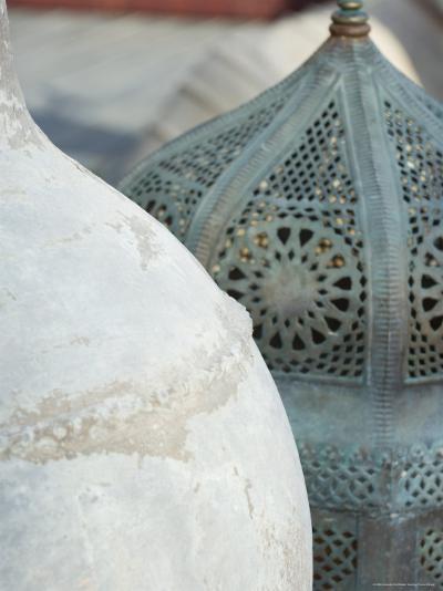 Arabian Pots, Dubai, United Arab Emirates, Middle East-Amanda Hall-Photographic Print