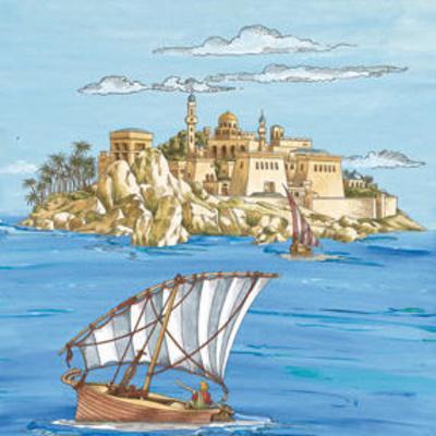 Arabian VI--Art Print