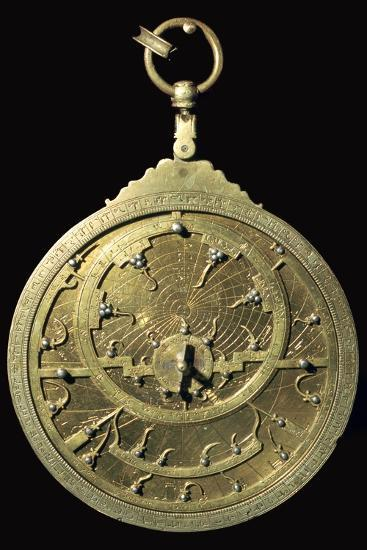 Arabic 18th century planispheric astrolabe, 18th century. Artist: Unknown-Unknown-Giclee Print