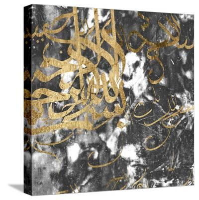 Arabic Abstract VI-Jennifer Goldberger-Stretched Canvas Print