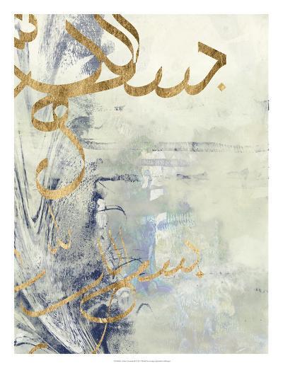 Arabic Encaustic III-Jennifer Goldberger-Art Print